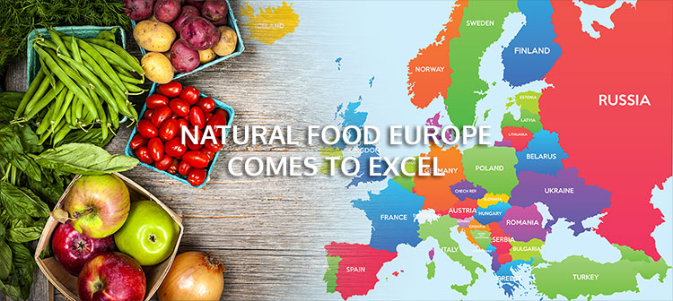Natural Food Europe comes to ExCel