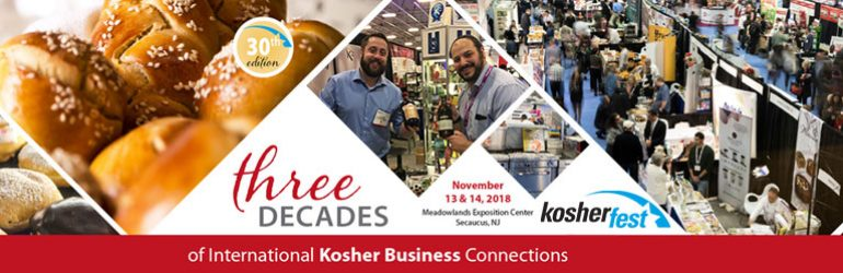 Kosherfest Celebrates Its 30th Anniversary