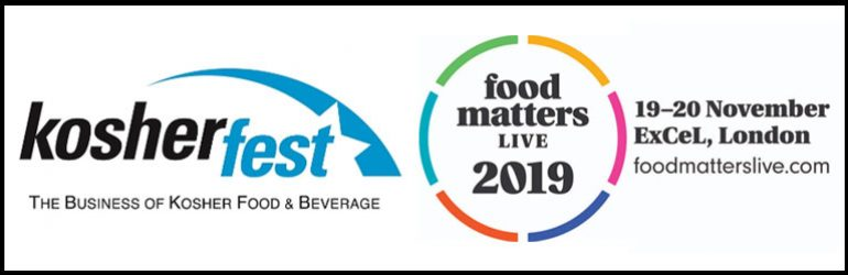 TWO MAJOR EXHIBITIONS IN NOVEMBER: Kosherfest & Food Matters Live
